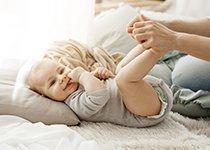 Bien hydrater la peau de bébé
