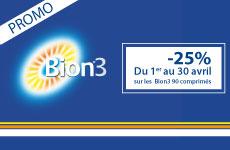 À saisir: -25% sur Bion 90 comprimés