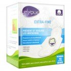 UNYQUE SERVIETTES EXTRA-FINES NORMAL 10 PROTECTIONS