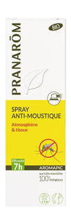 Pranarom Aromapic Spray Anti-Moustiques Bio 100ml