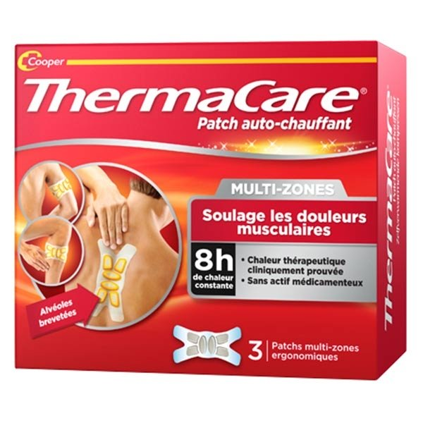 Thermacare Patch Chauffant Multi-Zones 3 unités