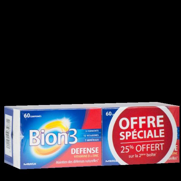 Bion 3 Adulte Lot de 2 x 60 comprimés