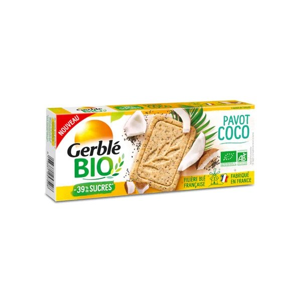 Gerble Bio Pavot Coco