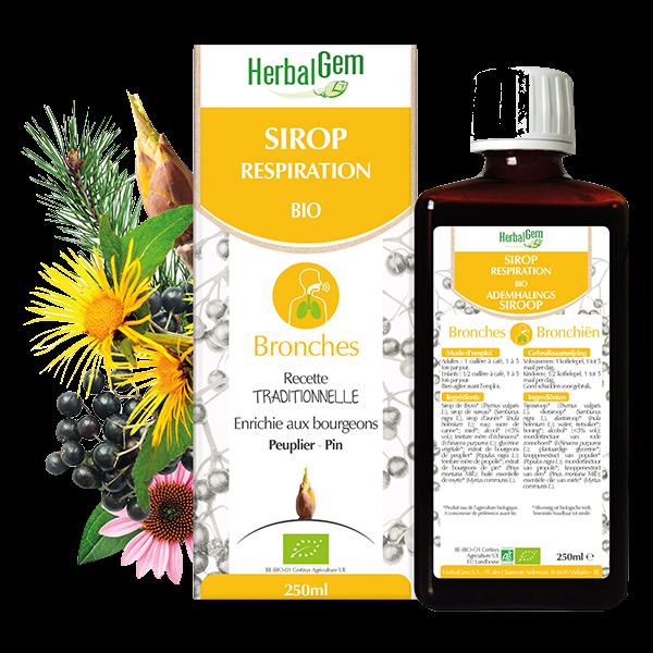 Herbalgem Sirop Respiration Bio