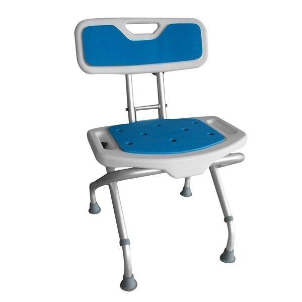 Siège de Douche Pliant Blue Seat
