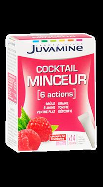 Juvamine Cocktail Minceur 6 Actions 14 sticks